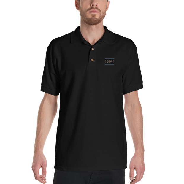 GiO Ancient Greece - Embroidered Polo Shirt - GiO (1998) Online Clothes Shop