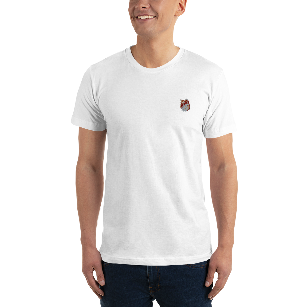 White TiGER - Embroidered T-Shirt