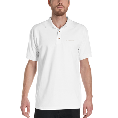 Sic Parvis Magna - Embroidered Polo Shirt - GiO (1998) Online Clothes Shop