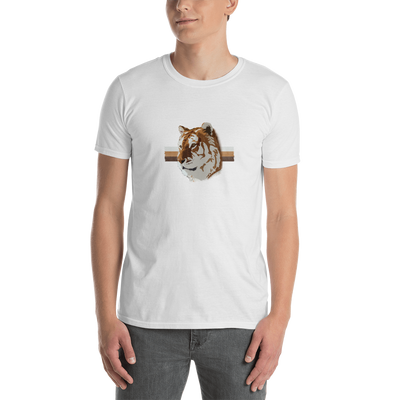 White TiGER - Unisex T-Shirt (Basic) - GiO 1998 Online Clothes Shop