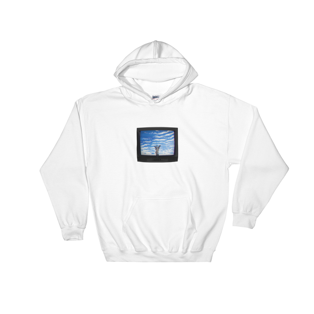 TeleVision - Hooded Sweatshirt - GiO 1998 Online Clothes Shop