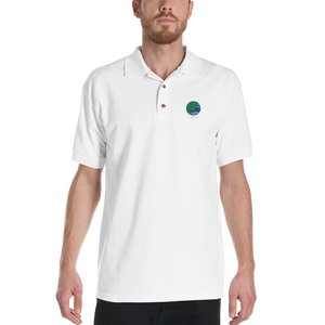 Earth - Embroidered Polo Shirt - GiO (1998) Casual Style