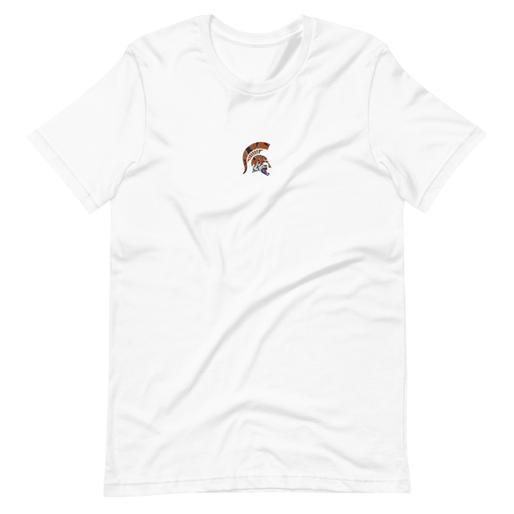Spartan Tiger - Embroidered T-Shirt - GiO 1998 Online Clothes Shop