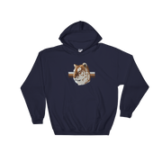 White TiGER - Hooded Sweatshirt - GiO (1998) Online Clothes Shop