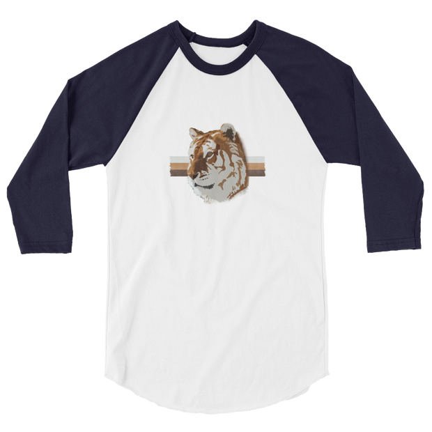 White TiGER - 3/4 sleeve raglan shirt