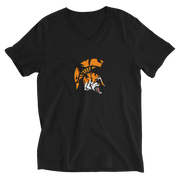 Spartan TiGER - Unisex V-Neck T-Shirt - GiO 1998 Online Clothes Shop