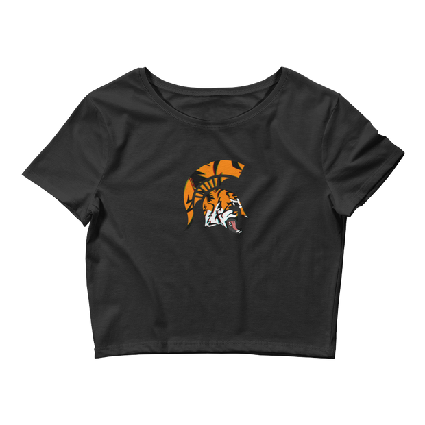 Spartan TiGER - Women's Crop Tee - GiO 1998 Online Clothes Shop