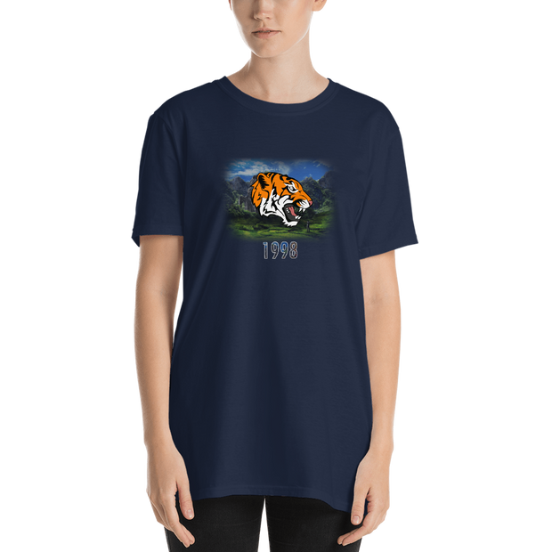 TiGER (1998) - Short-Sleeve Unisex T-Shirt (International) - GiO (1998) Online Clothes Shop