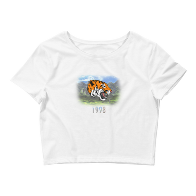 TiGER (1998) - Women's Crop Tee - GiO (1998) Online Clothes Shop