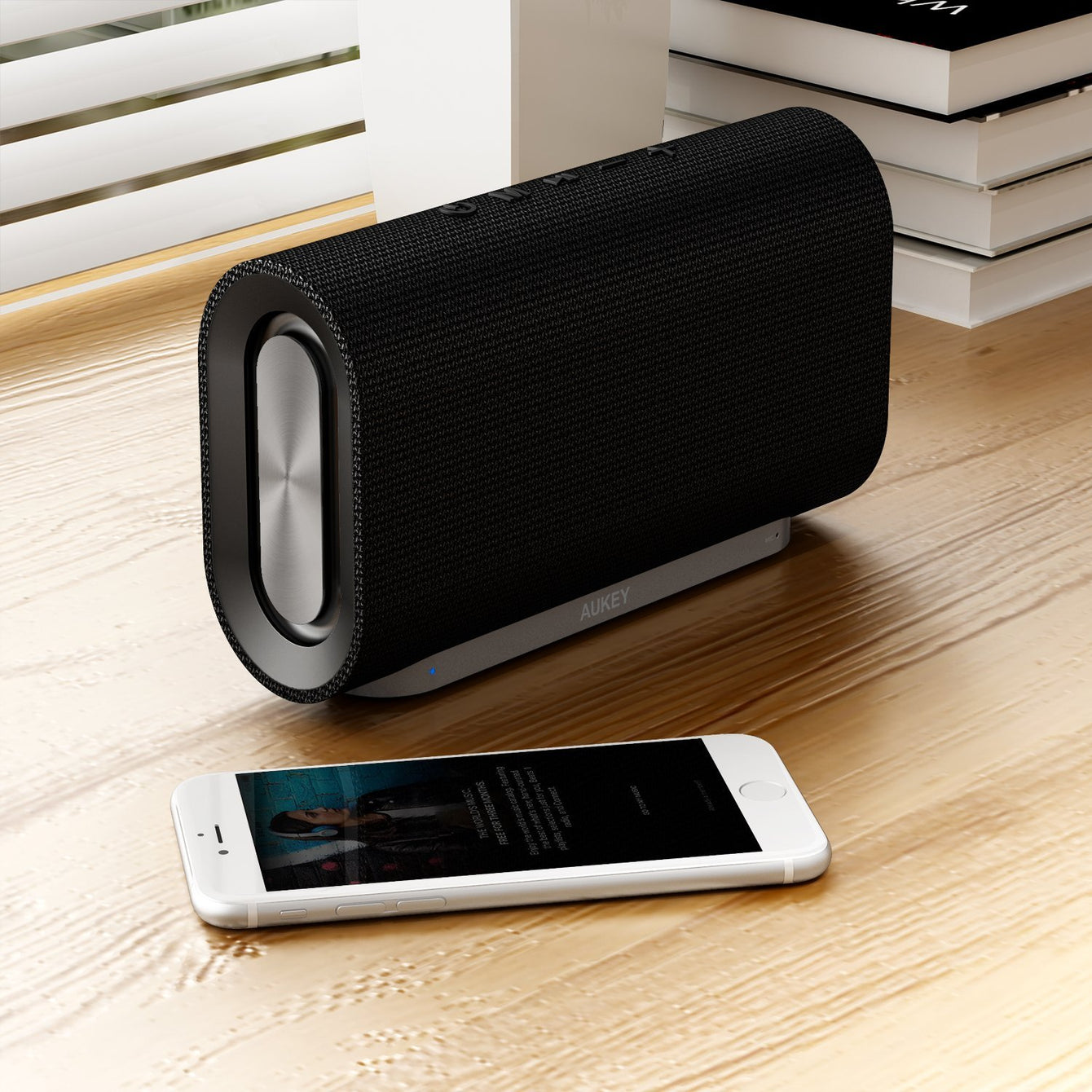 Aukey [SK-M30] Eclipse Bluetooth 4.2 Speaker