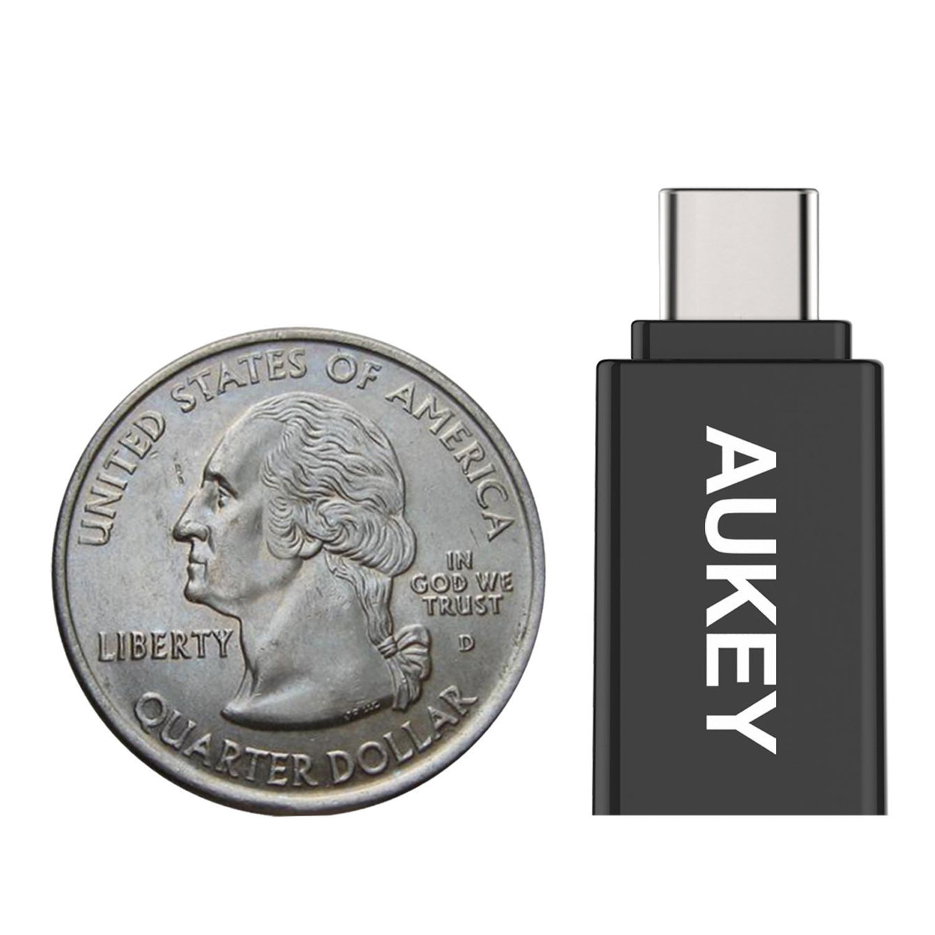 Aukey [CB-A1] USB-C to Micro USB Adapter