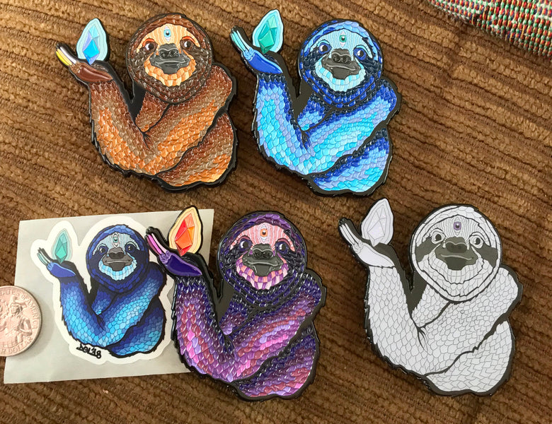 Sloth pins and prints!