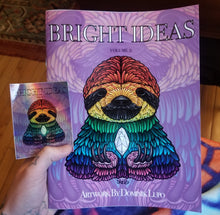 """Bright Ideas Vol 2"" colouring book"
