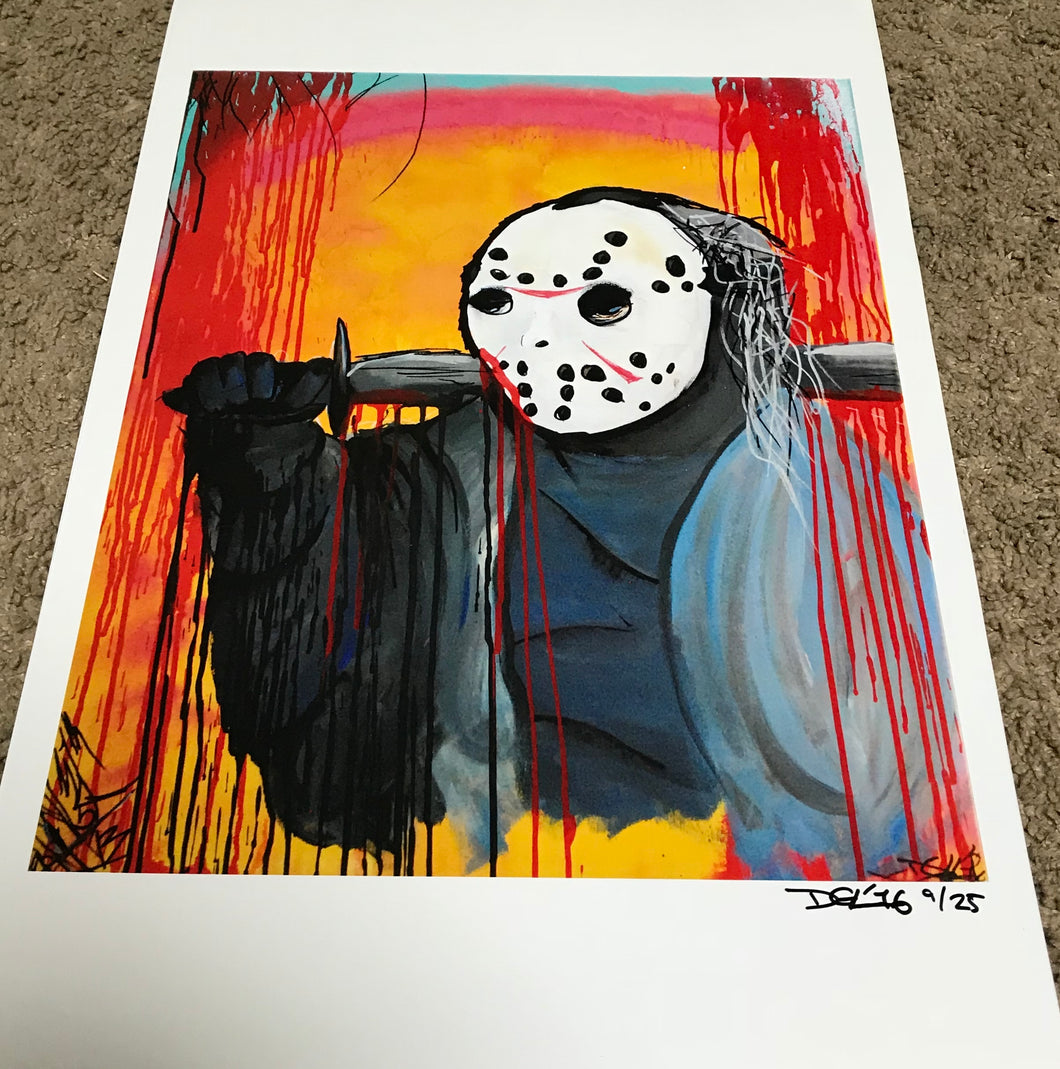 Friday the 13th v1 prints
