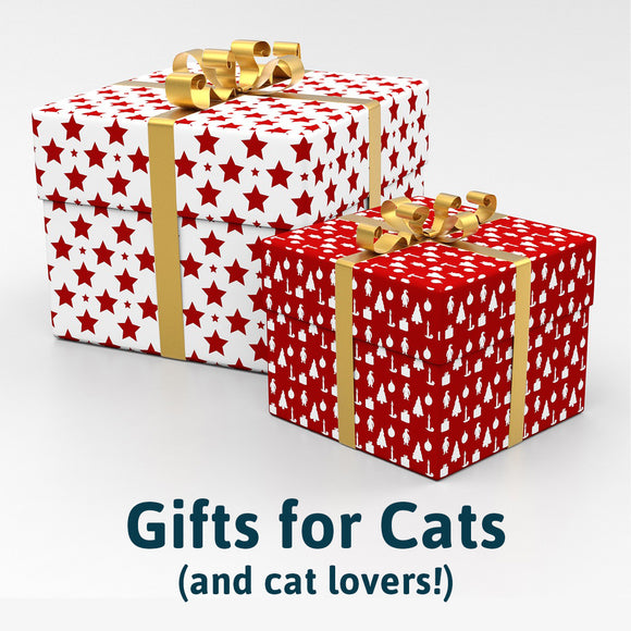 Holiday Gift Guide for Pets: Cats and Cat Lovers