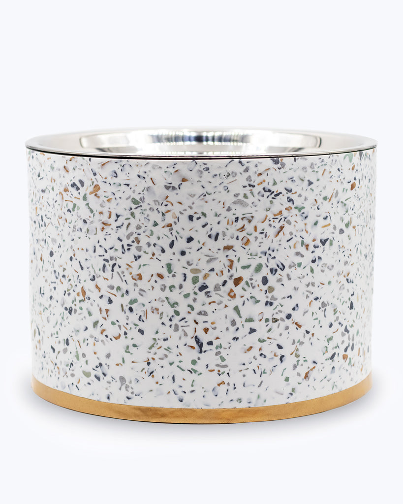 Terrazzo Elevated Dog Bowl - Large - 44oz, 6in