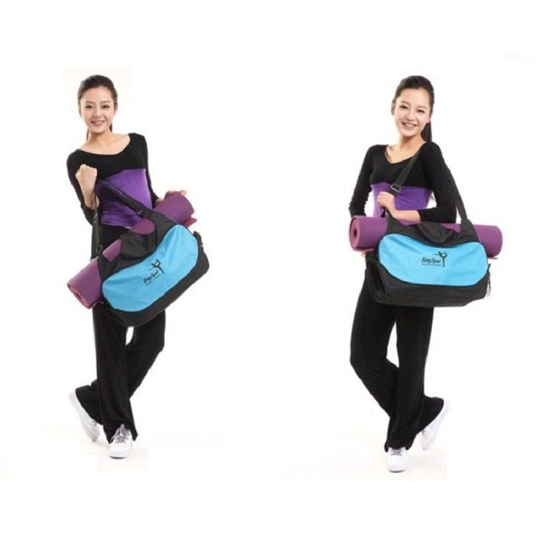 Multi-function Waterproof Yoga Pilates Gym Mat Carrier/Backpack Bag - yogashopper