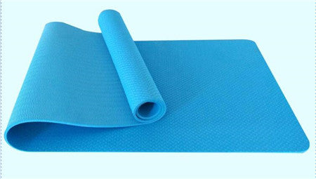 TPE Anti Slip Yoga Mat for Fitness Sport Yoga Exercise Gymnastics with Yoga Rope - yogashopper