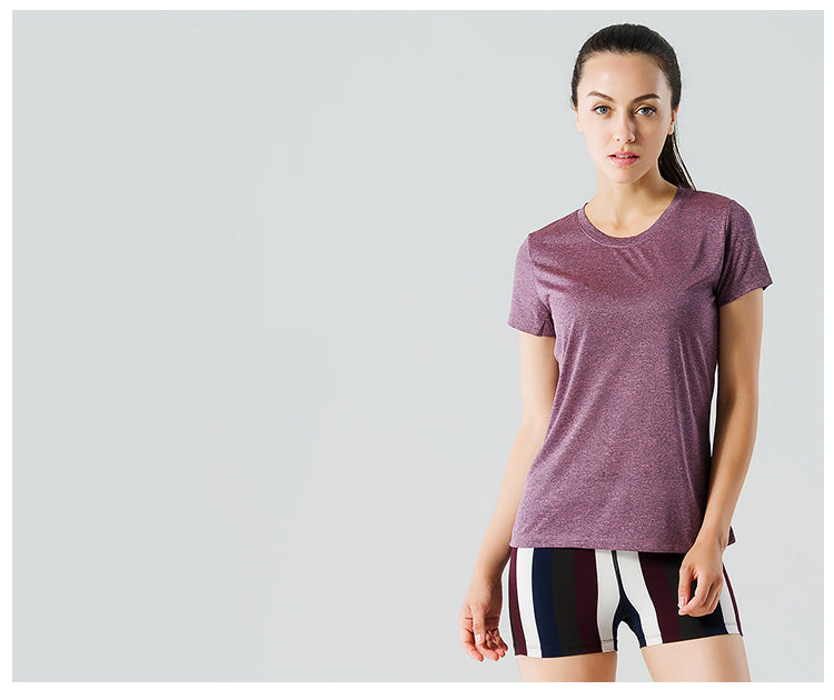 Women's Loose Running Sports T-Shirt - Yoga Fitness Clothing