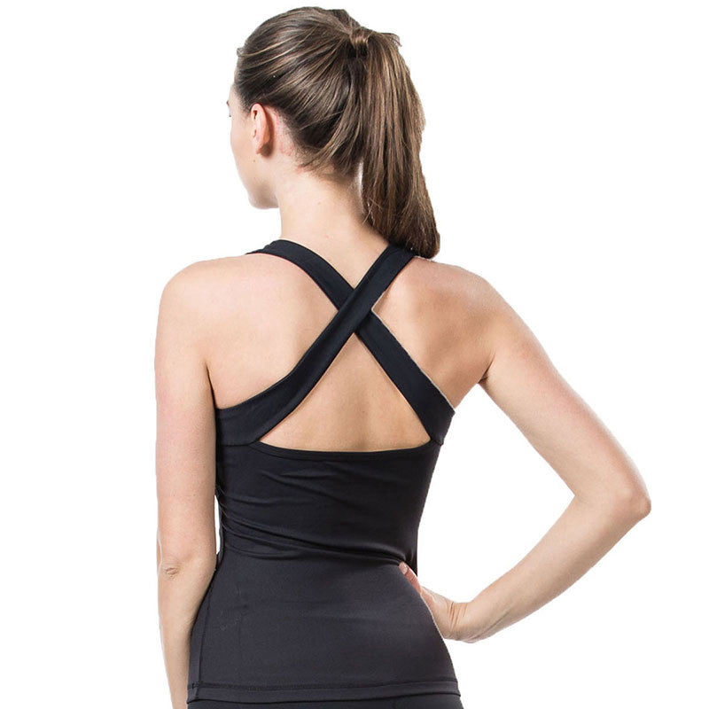 Sexy Elastic Fitness Sports Yoga Vest/Tank Top for Women - yogashopper