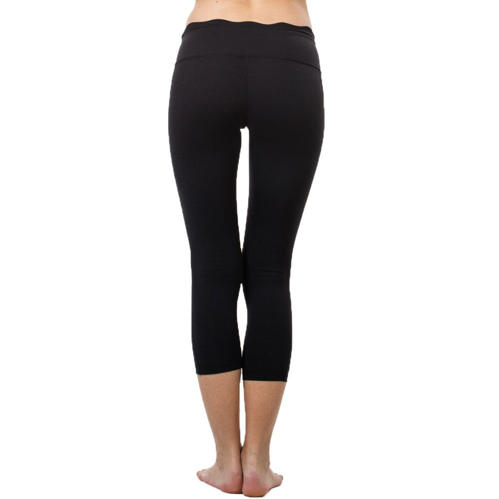 Women 3/4 High Waist Women Outdoor Running Mesh Yoga Sport Legging - yogashopper