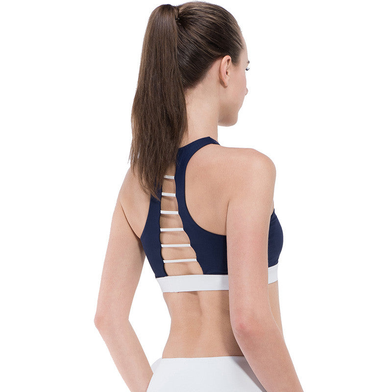 2018 Rushed Strappy Cropped Yoga Bra/Tank Top for Girls - yogashopper