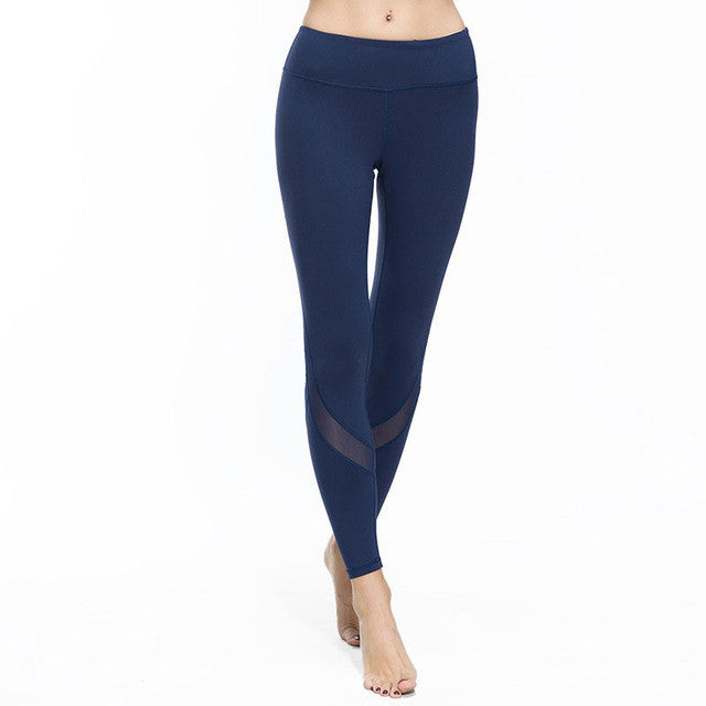 Fitness Mesh Yoga Leggings/Pants for Women - yogashopper