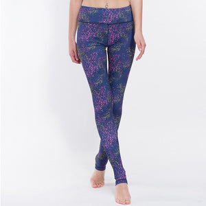 Women Multicolor Fitness Yoga Pants/Tights - yogashopper