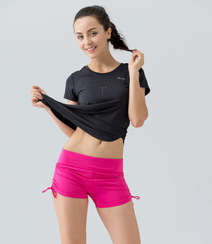 Hot YS Summer Yoga Shorts for Girls - yogashopper