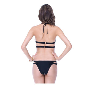 Women's Sexy Bandage Padded Bikini Set/Swimsuit with Push Up Bra - yogashopper