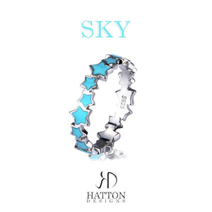 HATTON DESIGNS SKY 925 Sterling Silver Ring