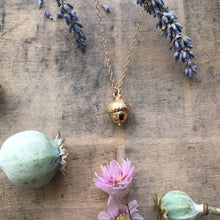 Load image into Gallery viewer, (PRE ORDER) Gold Plated Acorn Necklace