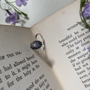 Sterling Silver Limpet Shell Ring