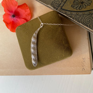 Sterling Silver 'Five Peas in a Pod' Necklace