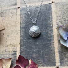 Load image into Gallery viewer, Sterling silver urchin pendant