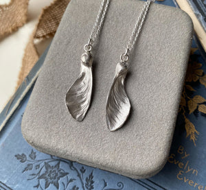 Sterling Silver Sycamore Seeds Gift Necklaces