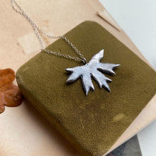Load image into Gallery viewer, Sterling Silver Maple Leaf Necklace