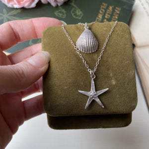 Sterling Silver Mini Starfish Necklace