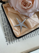 Load image into Gallery viewer, Sterling Silver Starfish Necklace