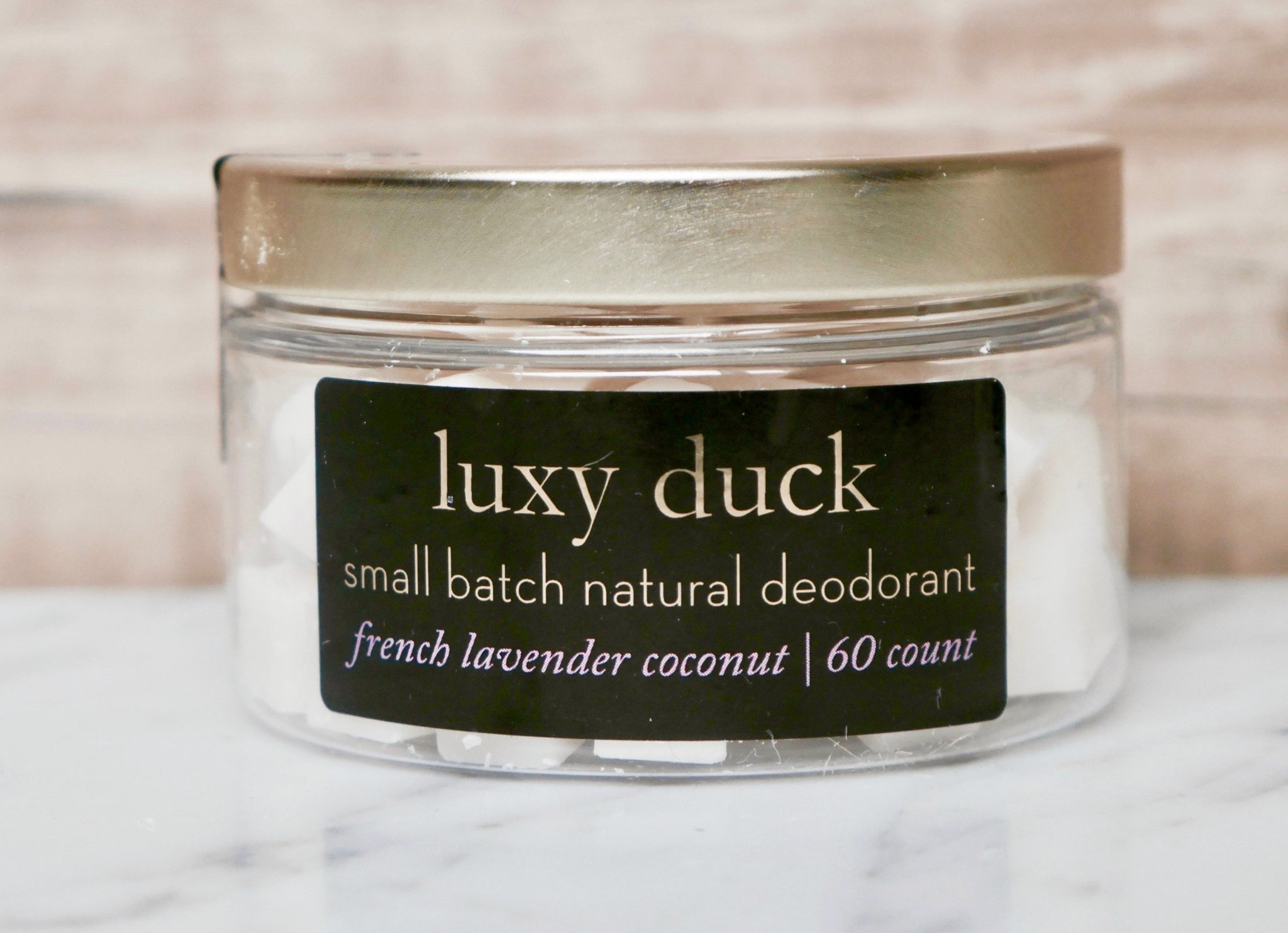 French Lavender Coconut Natural Deodorant