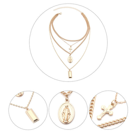 Image of Multi kruis ketting (2 variaties) - Csieraden