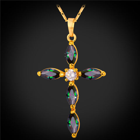 Image of Luxus Zirkonia ketting - Csieraden