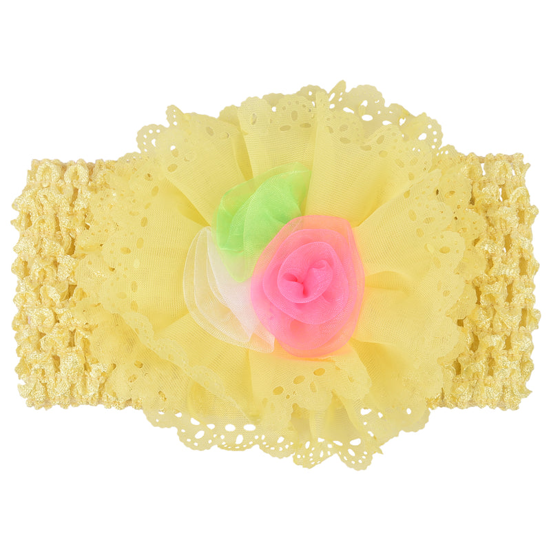 Baby Headband_Yellow -  Wish Karo Dresses