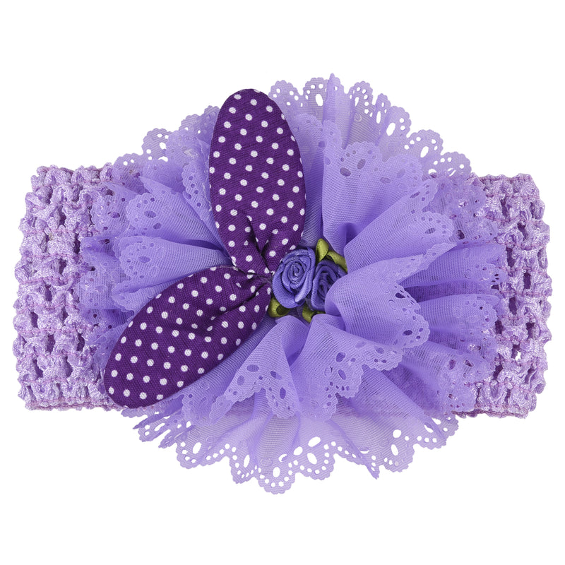 Headband_Violet -  Wish Karo Dresses