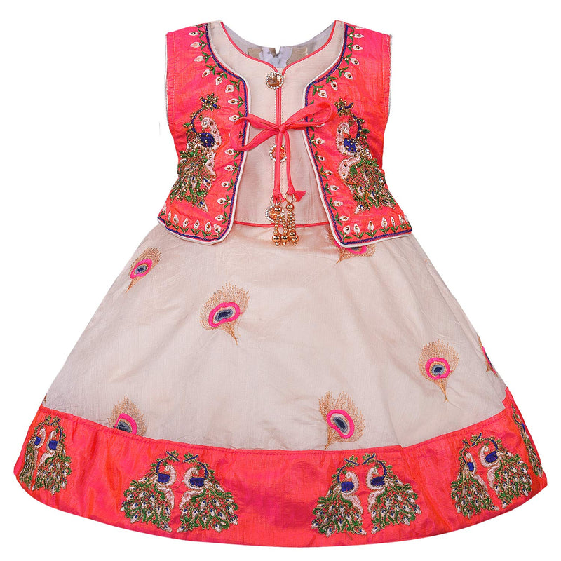 Baby Girls Party Wear Frock Birthday Dress For Girls fe2692t