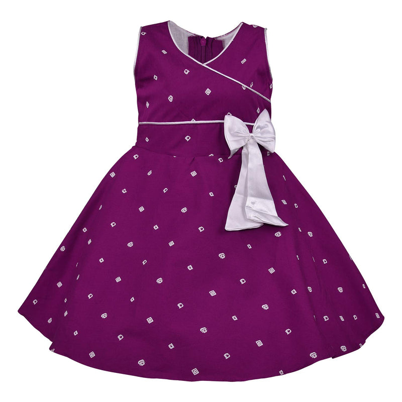 Baby Girls Cotton Frock Casual Dress for Girls-ctn054wn