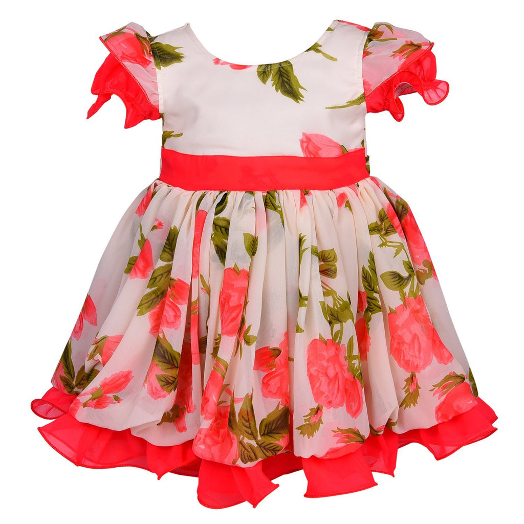 Baby Girls Party Wear Frock Dress DN fe122t -  Wish Karo Dresses