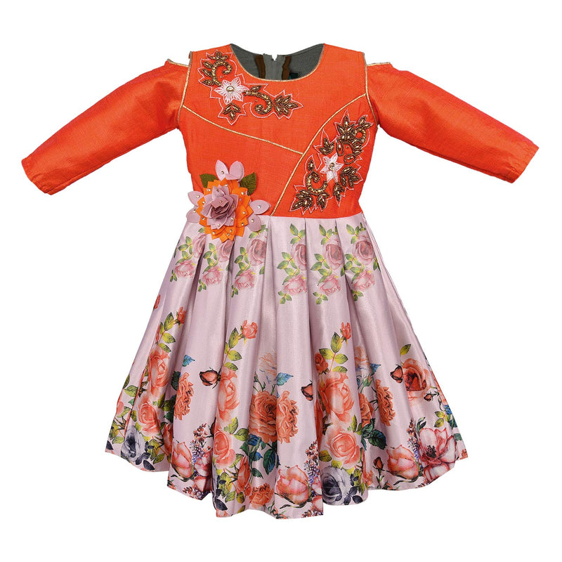 Baby Girls Party Wear Frock Birthday Dress For Girls fe2691org