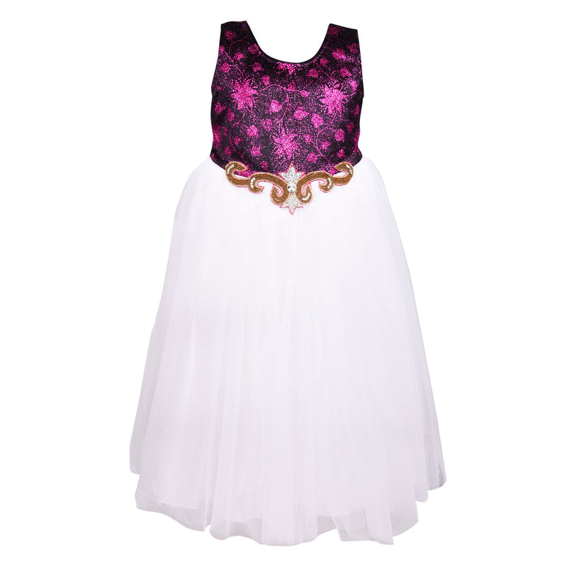 Girls Party Wear Gown  Birthday Dress  for Girls LF142w