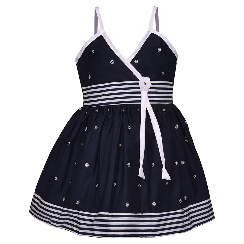 Baby Girls Cotton Frock Causal Dress for Girls ctn316nb